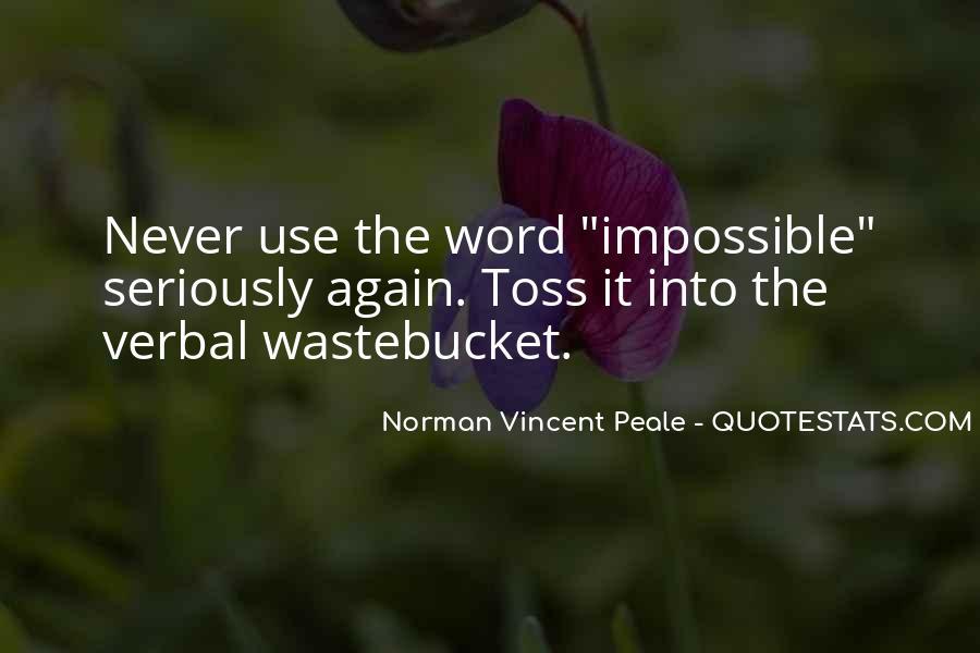 Norman Vincent Quotes #227402