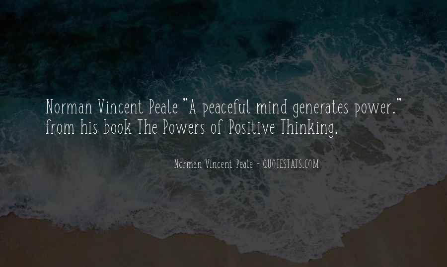 Norman Vincent Quotes #26702