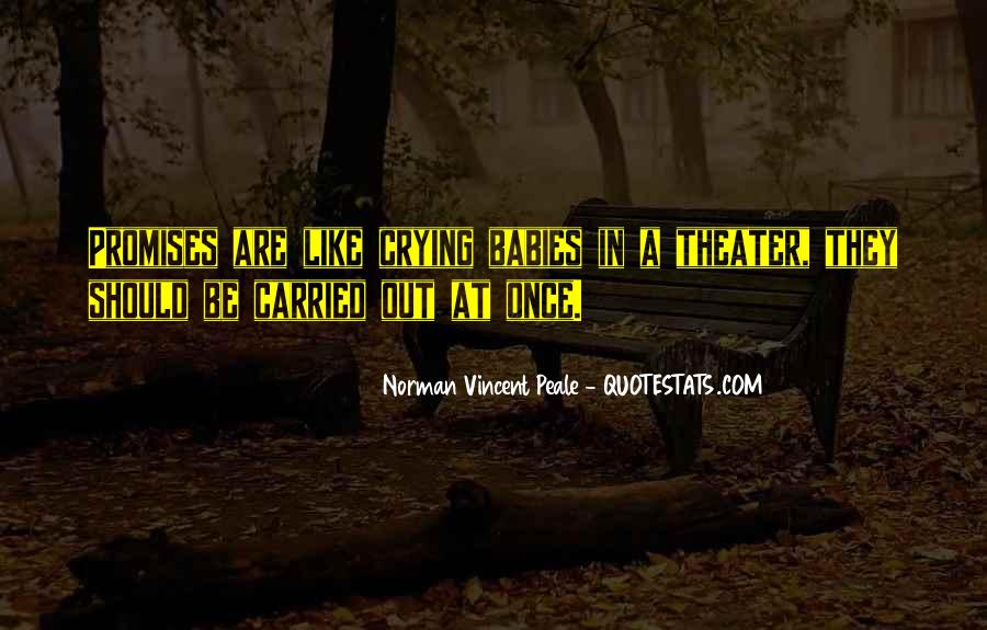 Norman Vincent Quotes #31215