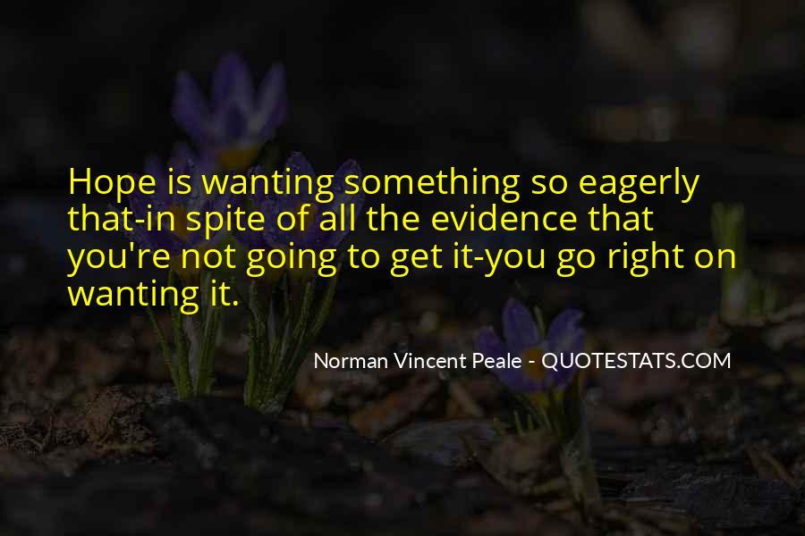 Norman Vincent Quotes #312679