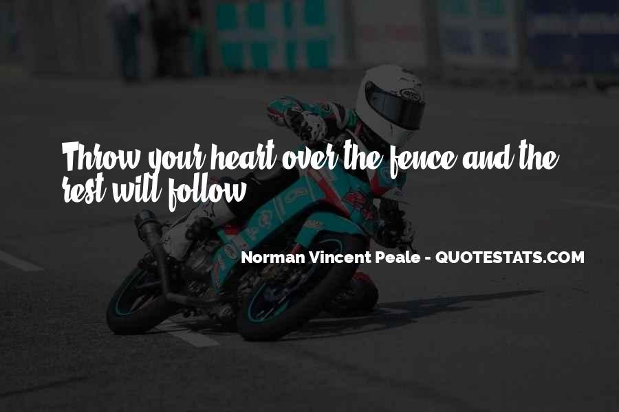 Norman Vincent Quotes #338432
