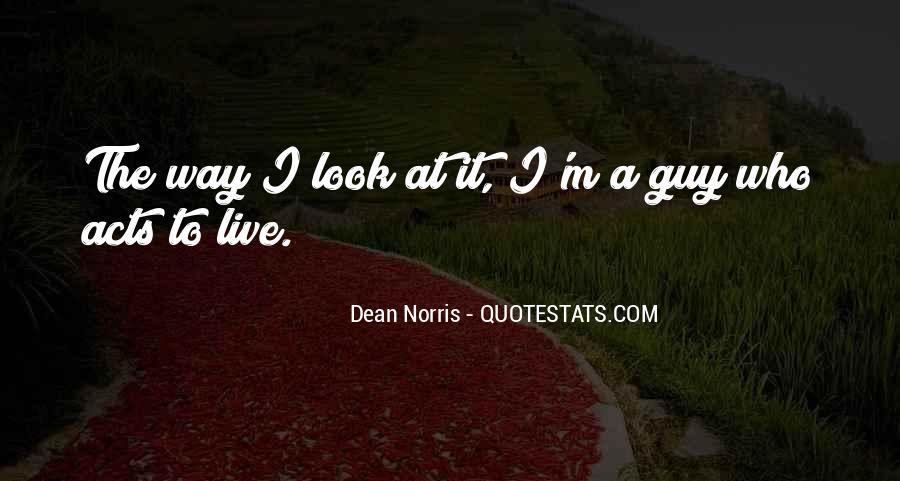 Norris Quotes #25906