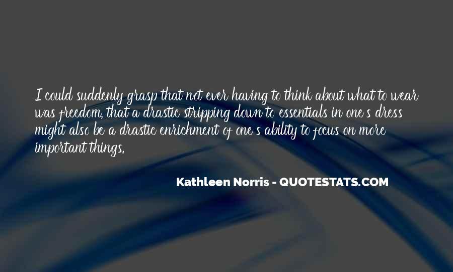 Norris Quotes #77988
