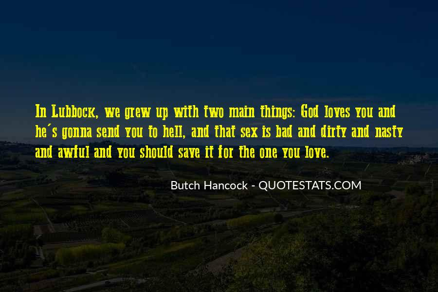 Quotes About Butch #30572