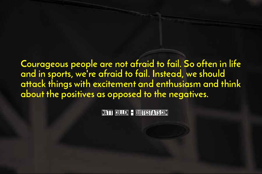 Not Afraid To Fail Quotes #1045609