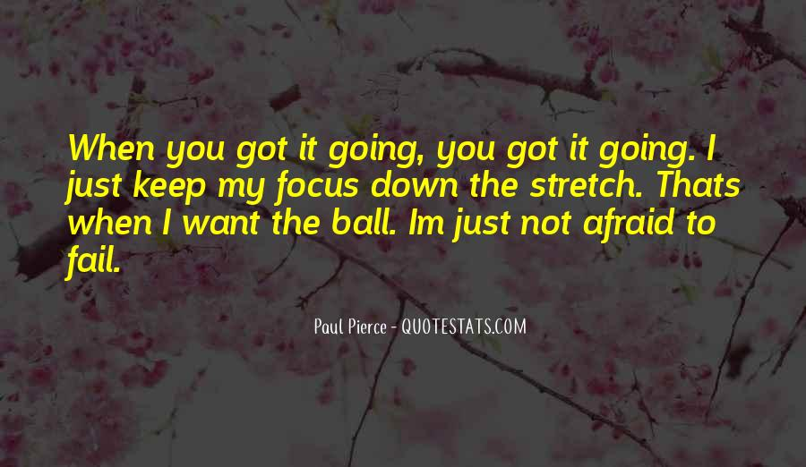Not Afraid To Fail Quotes #1066073