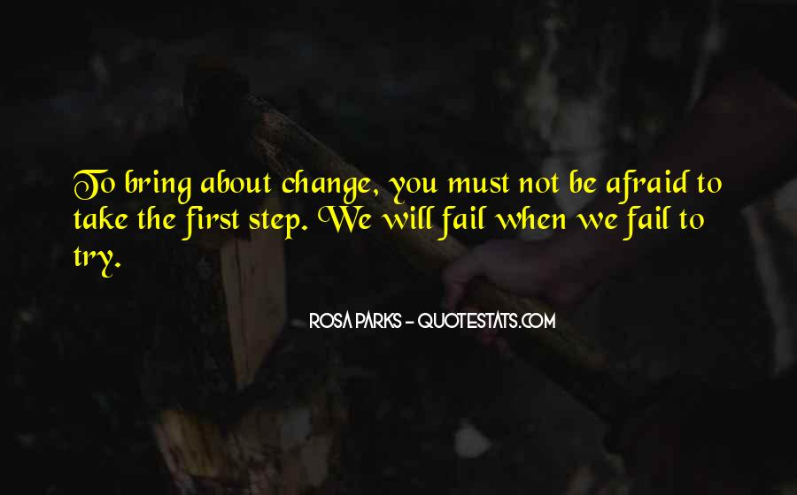 Not Afraid To Fail Quotes #1215665