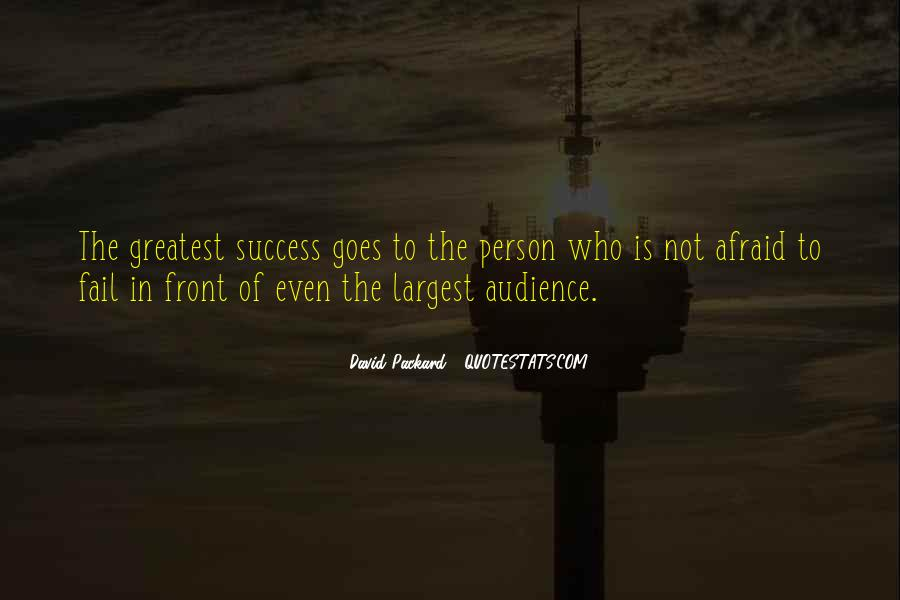 Not Afraid To Fail Quotes #269873