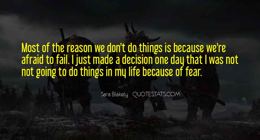 Not Afraid To Fail Quotes #711145