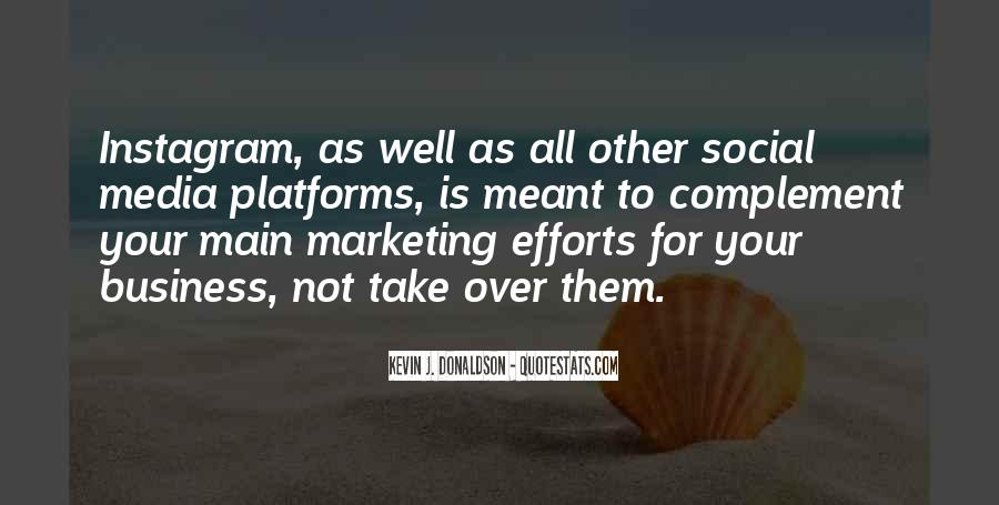 Quotes About Business Social Media #1297317