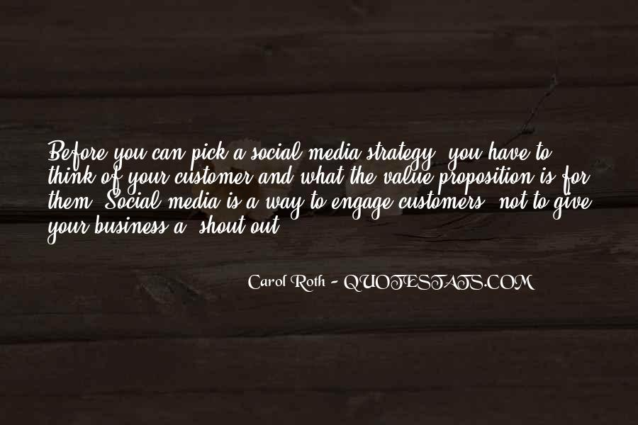 Quotes About Business Social Media #132165