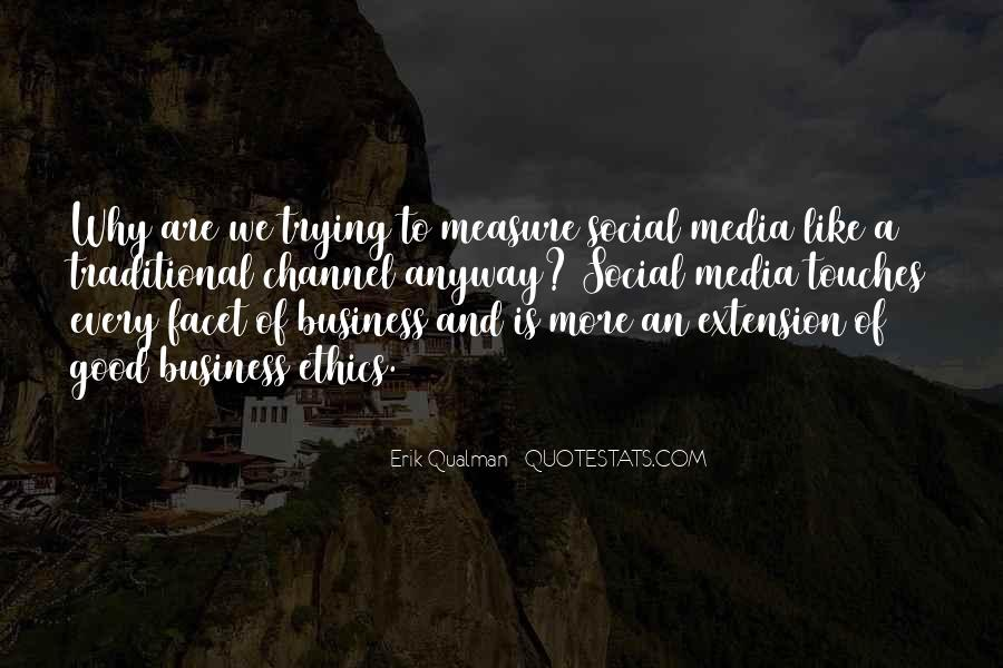 Quotes About Business Social Media #1340791