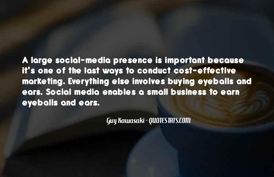 Quotes About Business Social Media #1477741