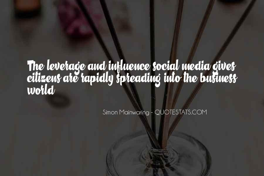 Quotes About Business Social Media #1570903