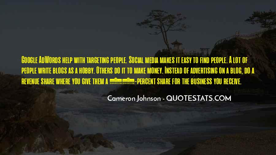 Quotes About Business Social Media #1584652