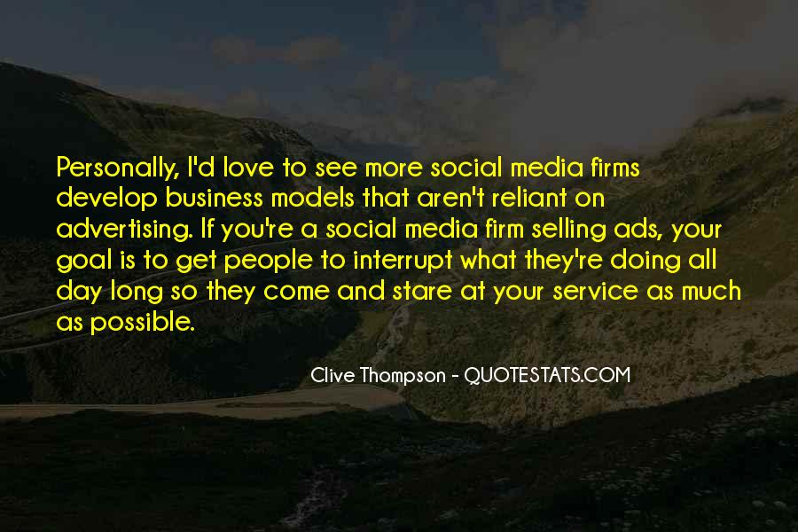 Quotes About Business Social Media #1647356