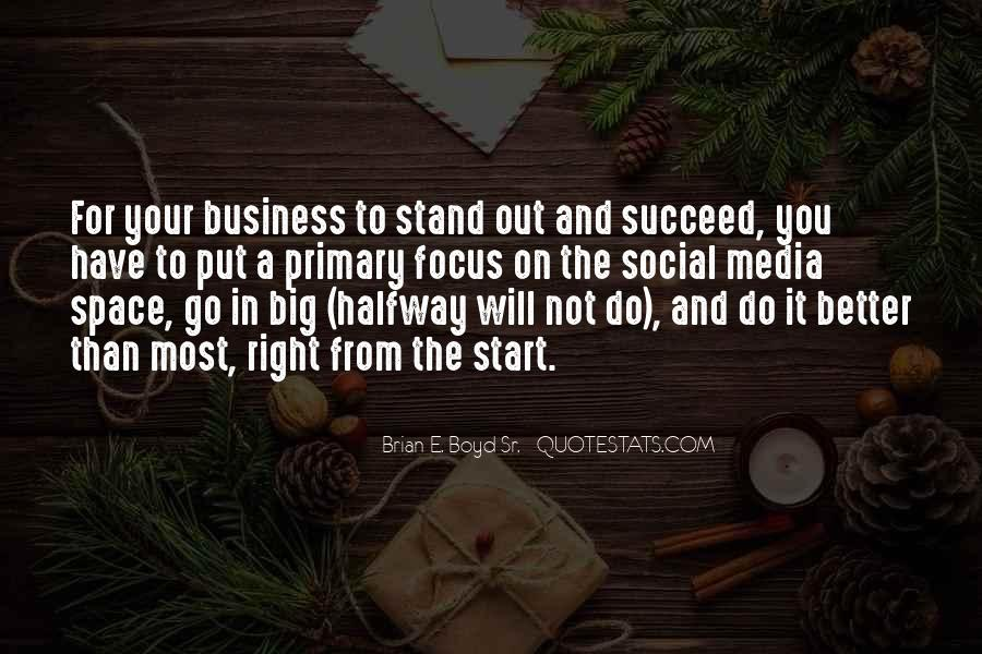 Quotes About Business Social Media #166205