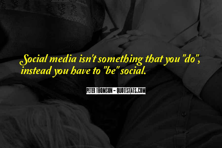 Quotes About Business Social Media #175024