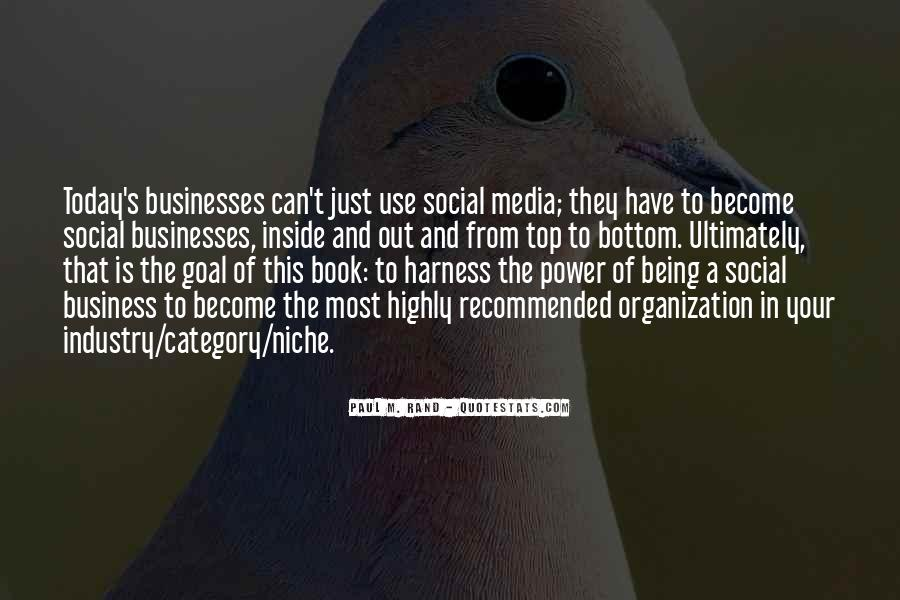 Quotes About Business Social Media #1849715