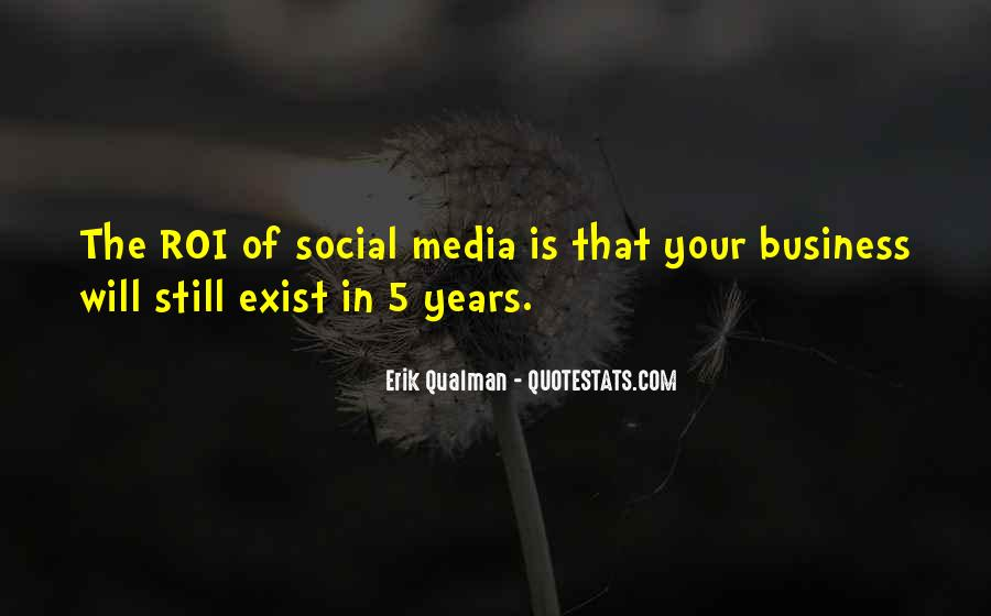 Quotes About Business Social Media #223156