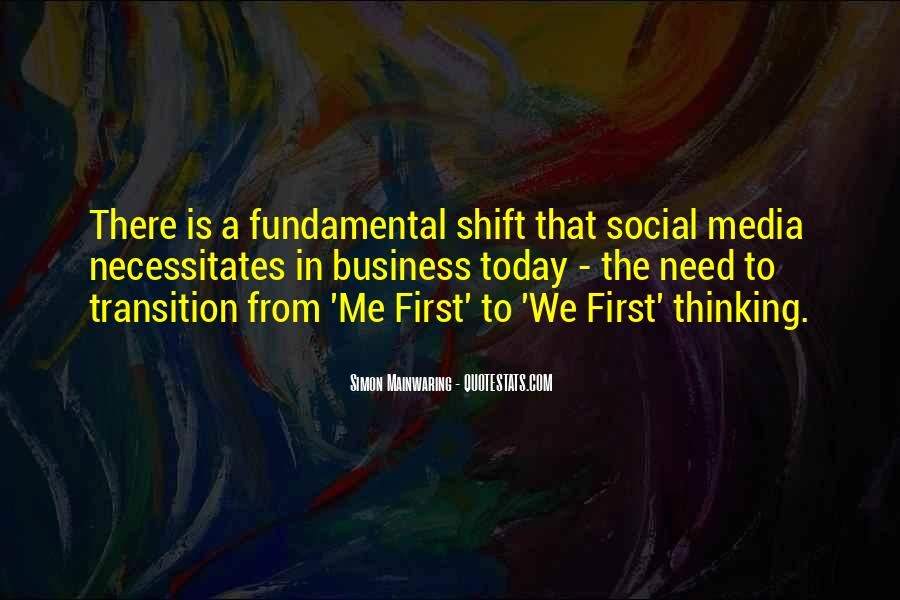 Quotes About Business Social Media #332126