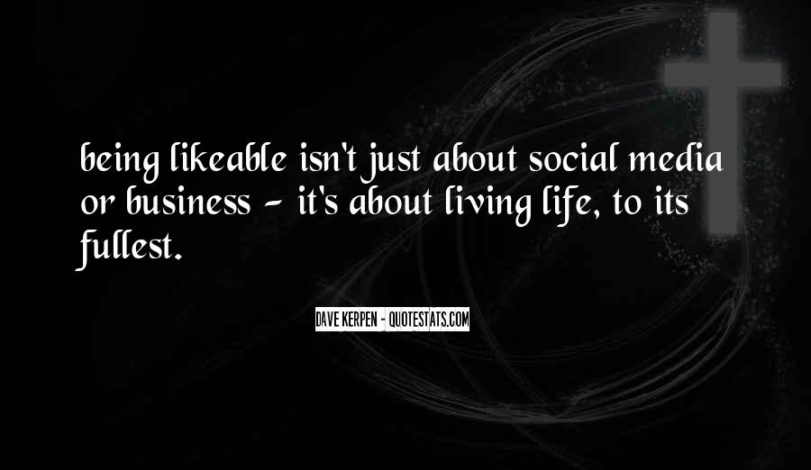 Quotes About Business Social Media #361743