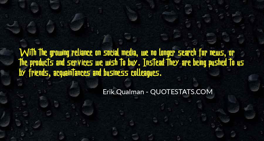 Quotes About Business Social Media #716410