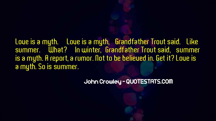 Not Believed Quotes #179294
