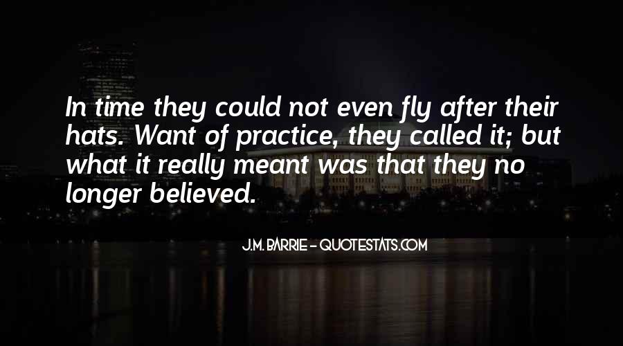 Not Believed Quotes #230509