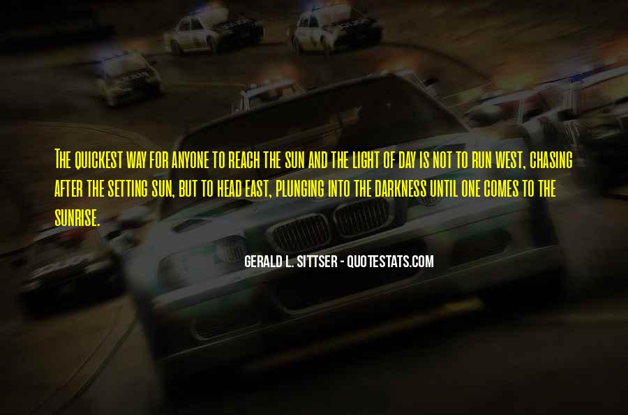 Not Chasing After Anyone Quotes #1399607
