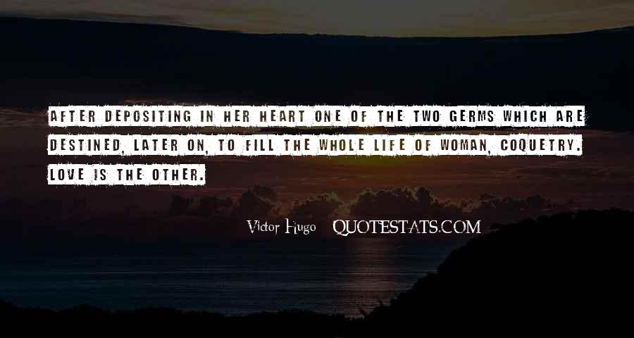 Not Destined Love Quotes #1060468