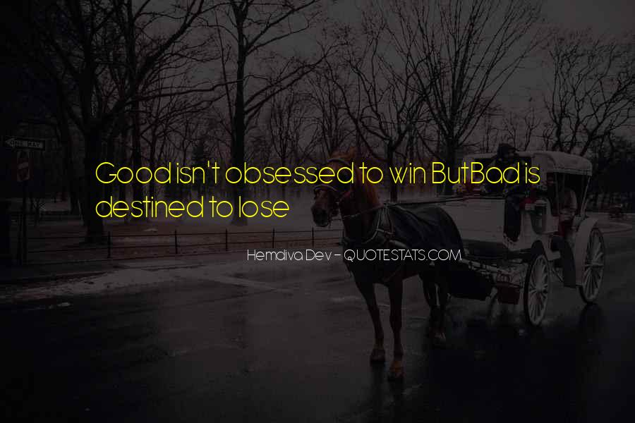 Not Destined Love Quotes #363743