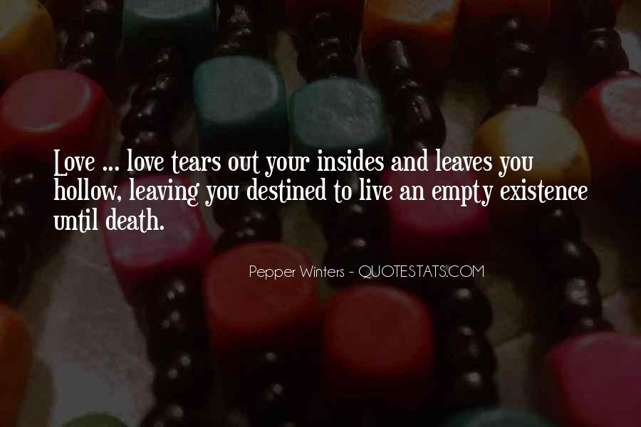 Not Destined Love Quotes #499826