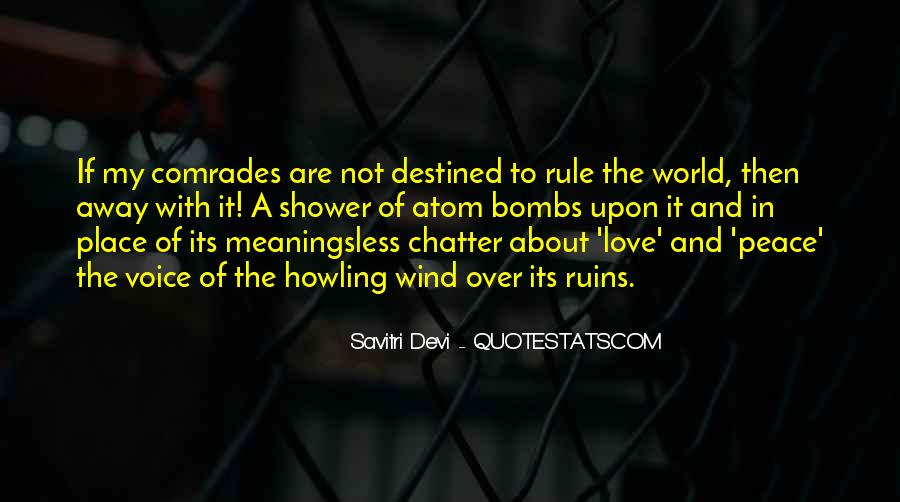 Not Destined Love Quotes #898795