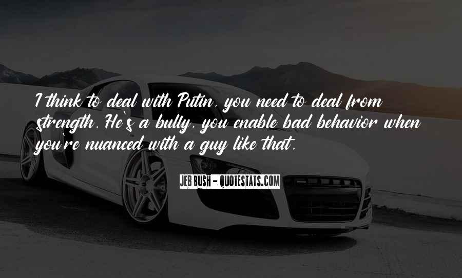 Quotes About Bush Putin #277822