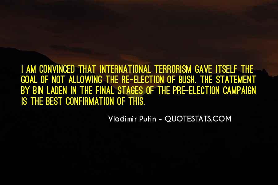 Quotes About Bush Putin #432909