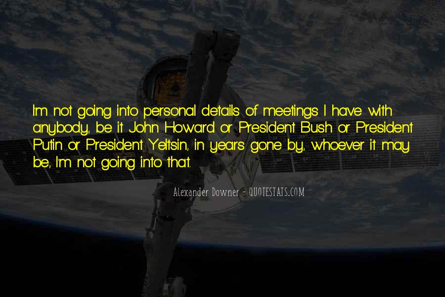 Quotes About Bush Putin #741803