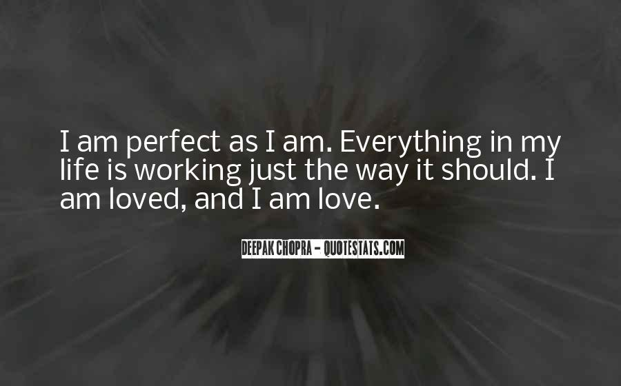 Not Everything Has To Be Perfect Quotes #52094