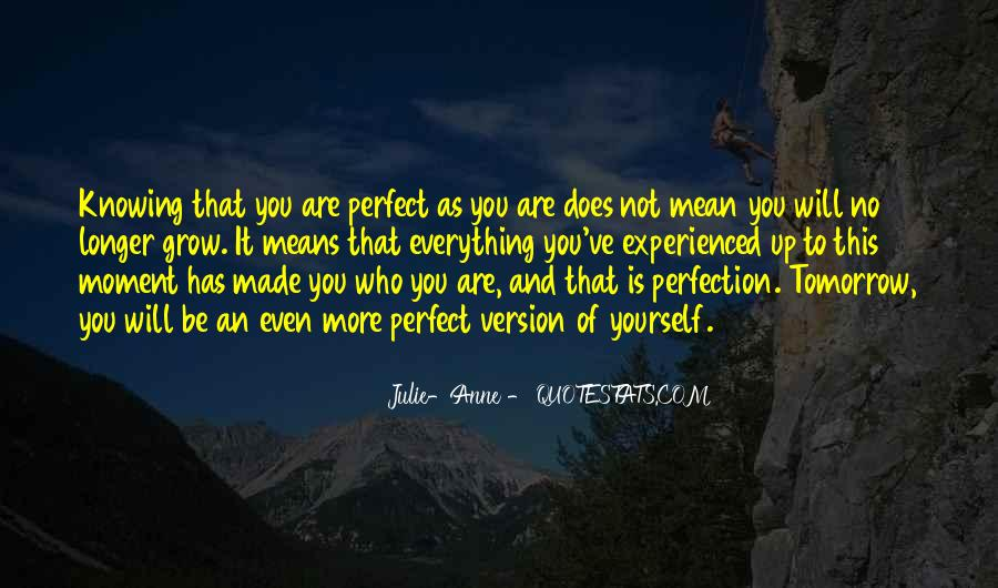 Not Everything Has To Be Perfect Quotes #602083