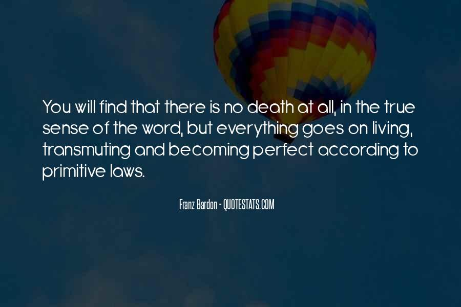 Not Everything Has To Be Perfect Quotes #73058