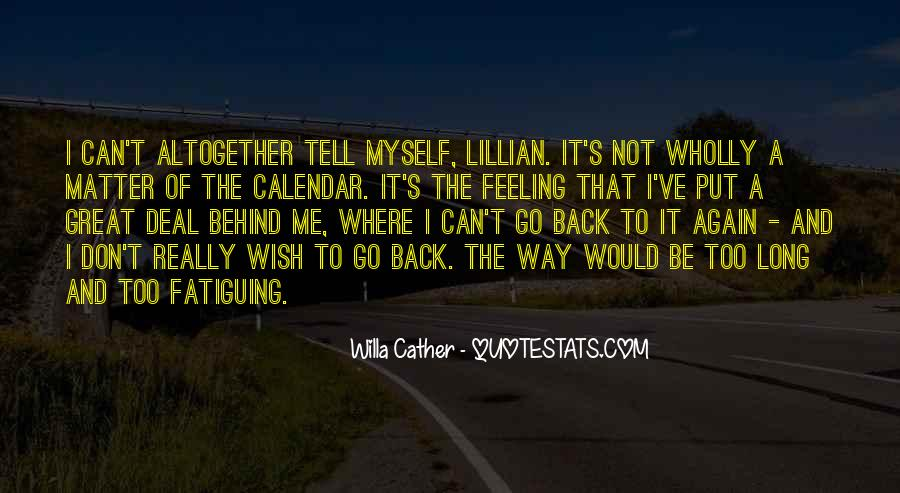 Not Feeling Great Quotes #1217693