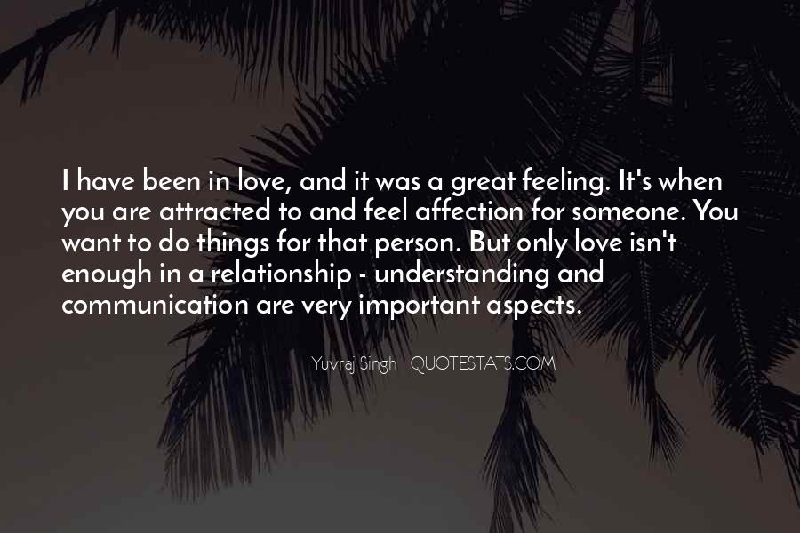 Not Feeling Important Relationship Quotes #1084192