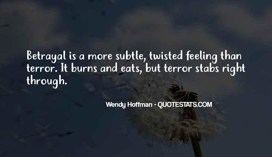 Not Feeling So Well Quotes #3651