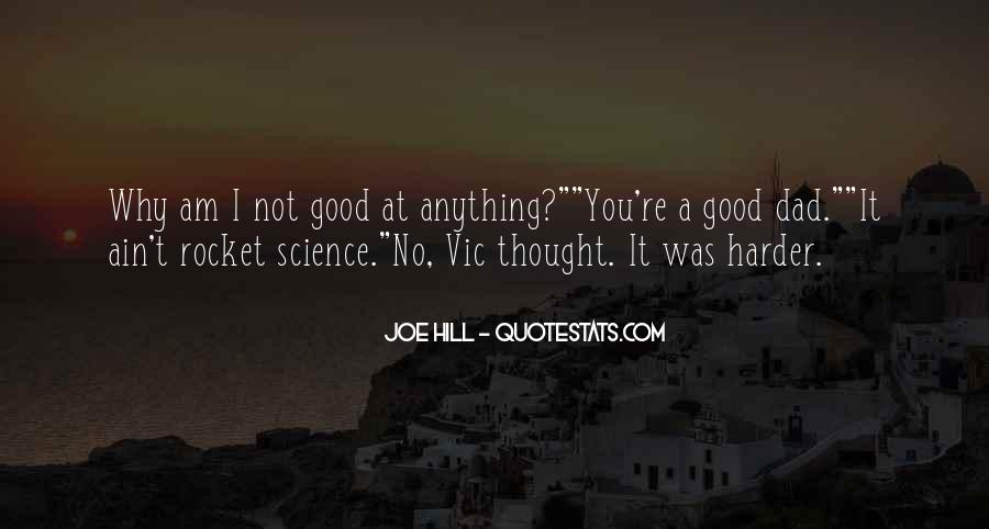 Not Good At Anything Quotes #1216517