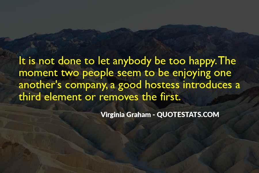 Not Good Company Quotes #1060300