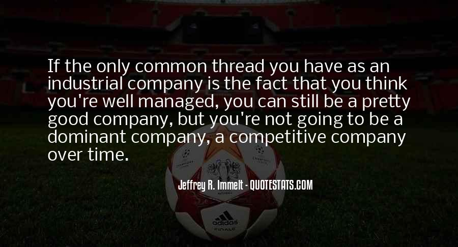 Not Good Company Quotes #1081759
