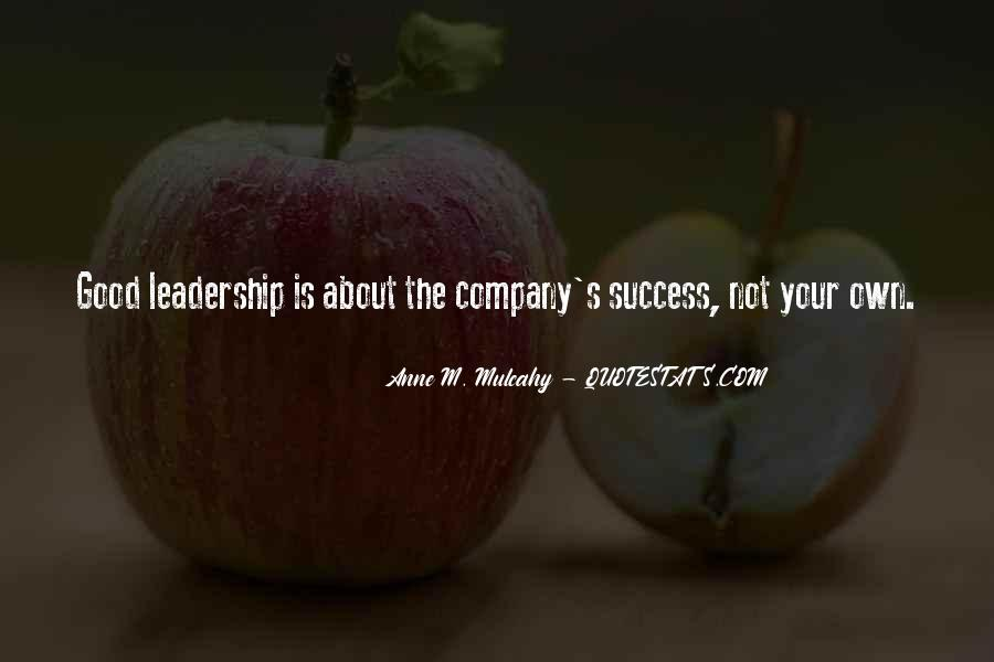 Not Good Company Quotes #1118857