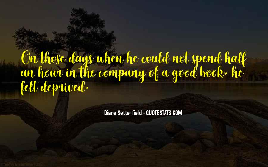 Not Good Company Quotes #202244