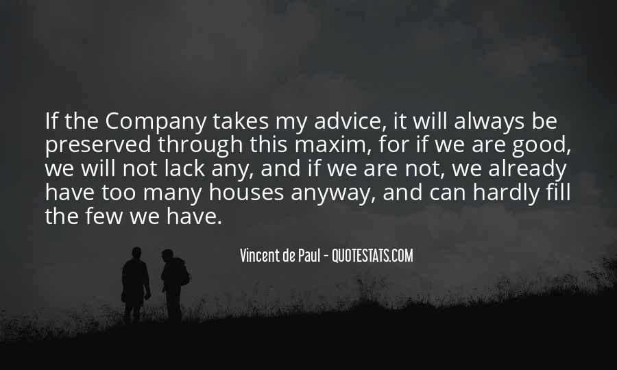 Not Good Company Quotes #395767
