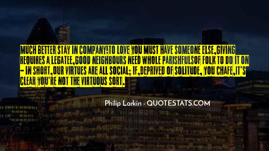 Not Good Company Quotes #536340
